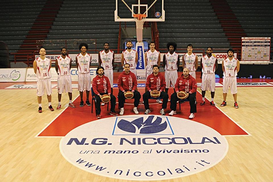 NG Niccolai- Pistoia – top sponsor Pistoia Basket 2000
