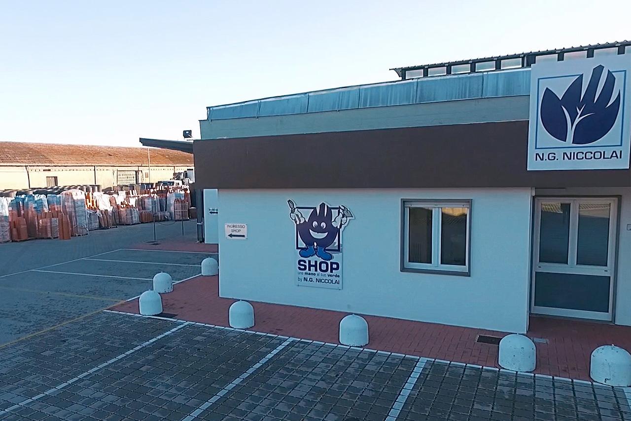 sede operativa NG Niccolai zona industriale di Pistoia