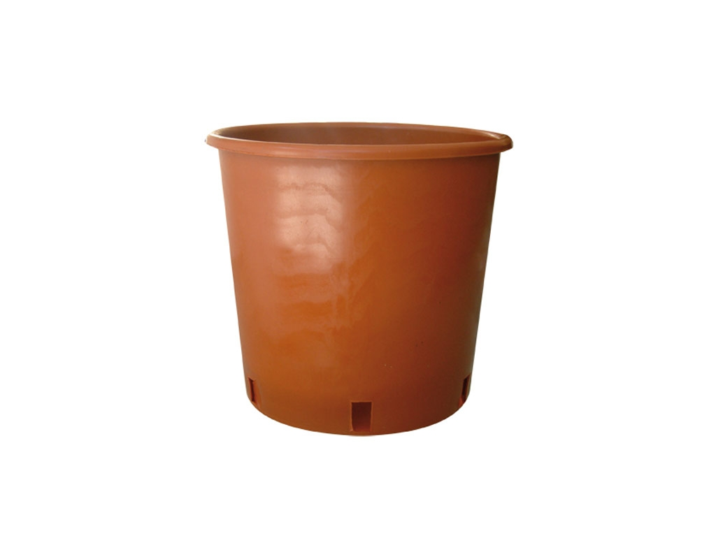 Round nursery pot